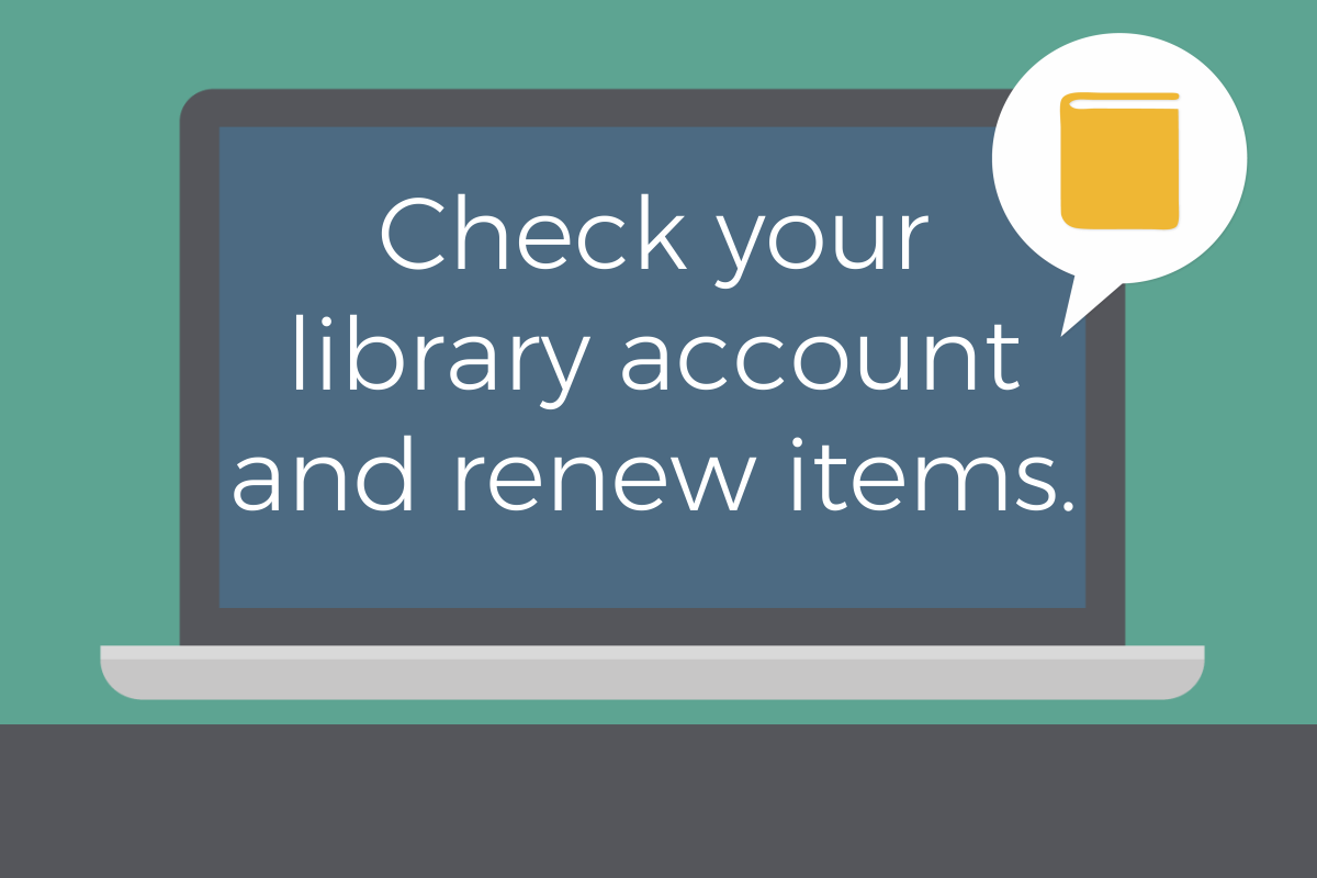 Library account renew items